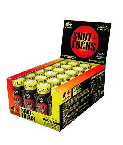 4-nutrition Shot Focus + / 24x40ml
