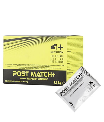 4-nutrition Post Match + / 20x60g