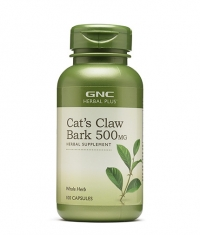 GNC Herbal Plus Cat's Claw 500 mg. / 90 Caps.