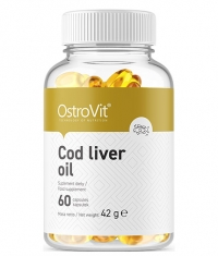 OSTROVIT PHARMA Cod Liver Oil / 60 Softgels