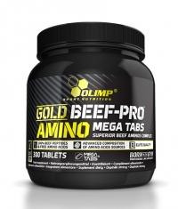 OLIMP Gold Beef-Pro Amino Mega Tabs / 300 tabs.