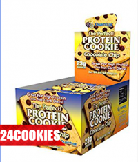 QUAMTRAX NUTRITION Protein Cookies /24 κουτα /