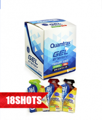 QUAMTRAX NUTRITION Energy Gel /18 in box/