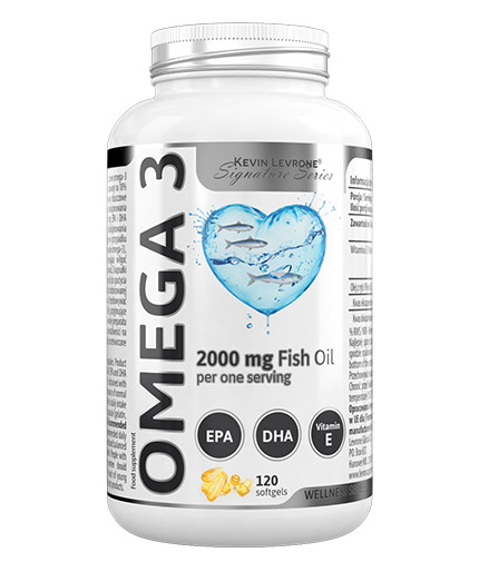 kevin-levrone Levrone Omega 3 / Fish Oil / 120 Softgels