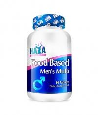 HAYA LABS Food Based Men's Multi / 60tabs.