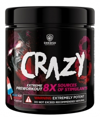 SWEDISH SUPLEMENTS Crazy 8 / Extreme PreWorkout