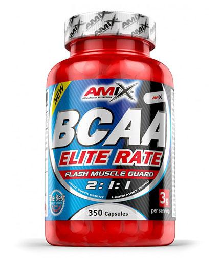 amix BCAA Elite Rate 350 Caps.