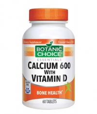 BOTANIC CHOICE Calcium 600 with Vitamin D / 60 Tabs