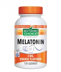 BOTANIC CHOICE Melatonin 3mg / 120 Lozenges
