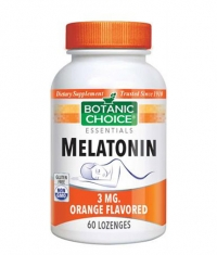 BOTANIC CHOICE Melatonin 3mg / 60 Lozenges