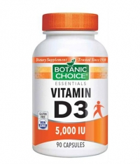 BOTANIC CHOICE Vitamin D3 5000 IU / 90 Caps