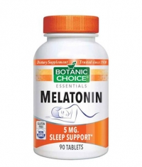 BOTANIC CHOICE Melatonin 5mg / 90 Tabs