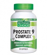 BOTANIC CHOICE Prostate 9 Complex / 30 Softgels
