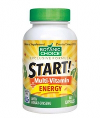 BOTANIC CHOICE START Multi-Vitamin Energy / 60 Vcaps