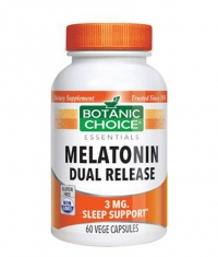 BOTANIC CHOICE Melatonin 3mg Dual Release / 60 Vcaps