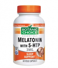 BOTANIC CHOICE Melatonin with 5-HTP / 60 Vcaps