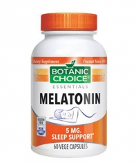 BOTANIC CHOICE Melatonin 5mg / 60 Vcaps