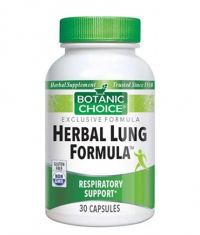 BOTANIC CHOICE Herbal Lung Formula / 30 Caps