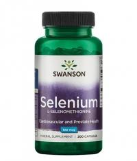 SWANSON Selenium L-Selenomethionine 100mcg / 200 Caps