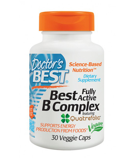 doctors-best Fully Active Vitamin B Complex / 30 Vcaps