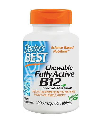 doctors-best Chewable Fully Active Vitamin B12 1000mcg / 60 Chews