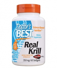 DOCTOR\'S BEST Real Krill 350mg / 60 Caps