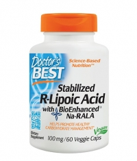 DOCTOR\'S BEST Stabilized R-Lipoic Acid 100mg / 60 Vcaps