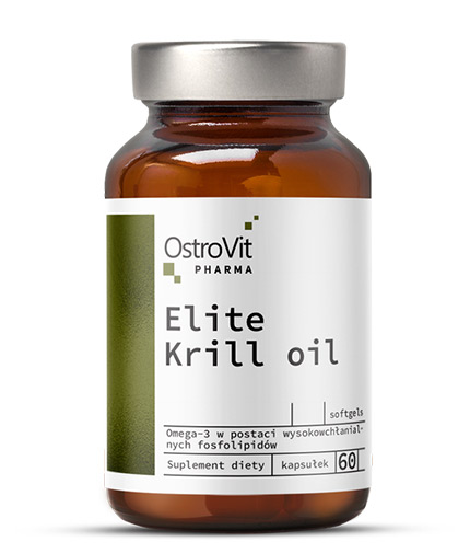 ostrovit-pharma Elite Krill Oil 1000mg / 30 Caps