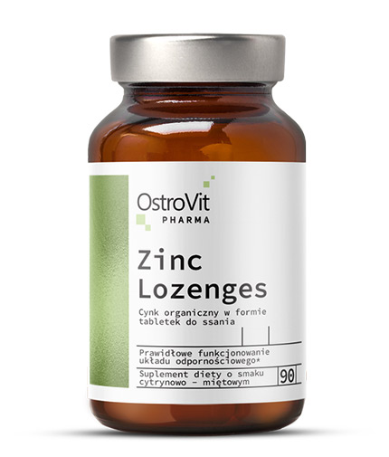 ostrovit-pharma Zinc Lozenges + Vitamin C / 90 Tabs