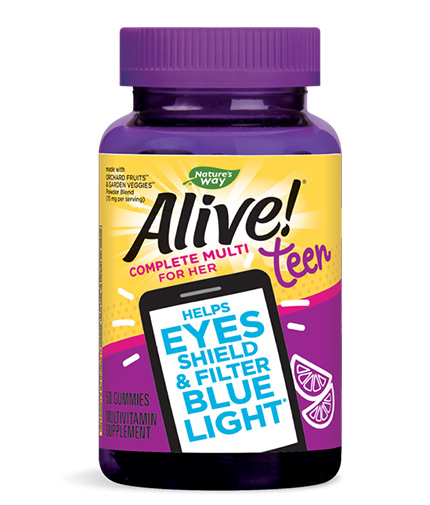 natures-way Alive! Teen Gummy Multivitamin for Her / 50 Gummies