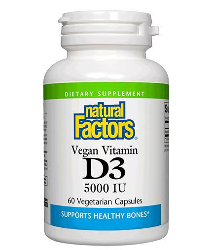 natural-factors Vegan Vitamin D3 5000 IU / 60 Vcaps