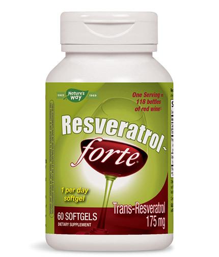 natures-way Resveratrol Forte 450mg / 60 Softgels