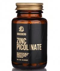 GRASSBERG Zinc Picolinate 15mg - High Absorbtion / 60 Caps