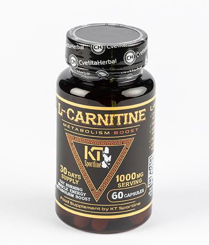 cvetita-herbal KT Sport Line L-Carnitine / 60 Caps