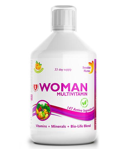 "swedish-nutra ""Women"" multivitamins for women / 500ml"