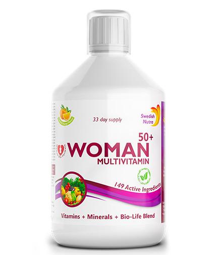 "swedish-nutra ""Women 50+"" multivitamins for women / 500ml"