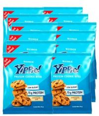 WEIDER YIPPIE Protein cookie bites 12x50gr.