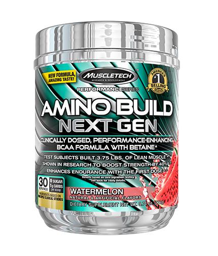 muscletech Amino Build Next Gen / 30 serv
