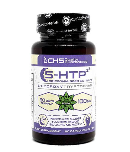 cvetita-herbal 5-HTP 100mg / 80 Caps
