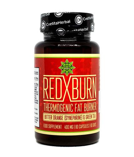 cvetita-herbal Red X Burn 400mg / 80 Caps
