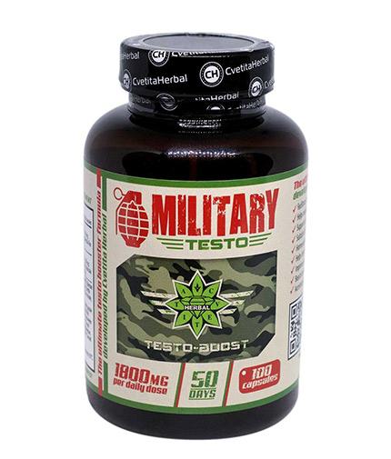 cvetita-herbal Military Testo 900mg / 100 Caps