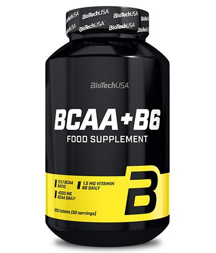 biotech-usa BCAA + B6 / 200 Tabs.