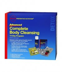 GNC Advanced Complete Body Cleansing Program 14 Day Program