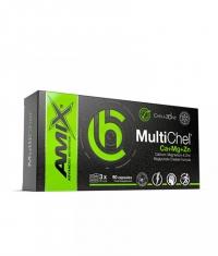 AMIX ChelaZone® MultiChel® Ca+Mg+Zn Bisglycinate Chelate / 90 Vcaps