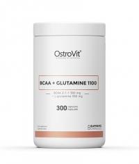 OSTROVIT PHARMA BCAA + Glutamine 1100 / 300 Caps