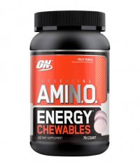 OPTIMUM NUTRITION Essential AmiN.O. Energy 75 Chewables