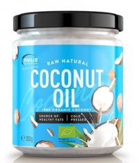 GENIUS NUTRITION Raw Natural Coconut Oil