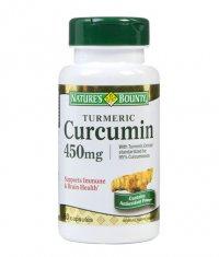 NATURE'S BOUNTY Turmeric Curcumin 450mg. / 60 Caps.