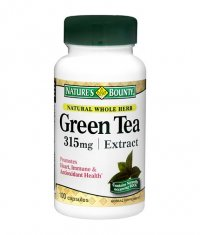 NATURE'S BOUNTY Green Tea Extract 315mg. / 100 Caps.