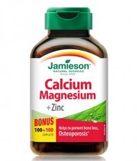 JAMIESON Calcium Magnesium with Zinc / 200 Caps